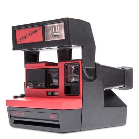 Polaroid Serie 600 COOL CAM RED