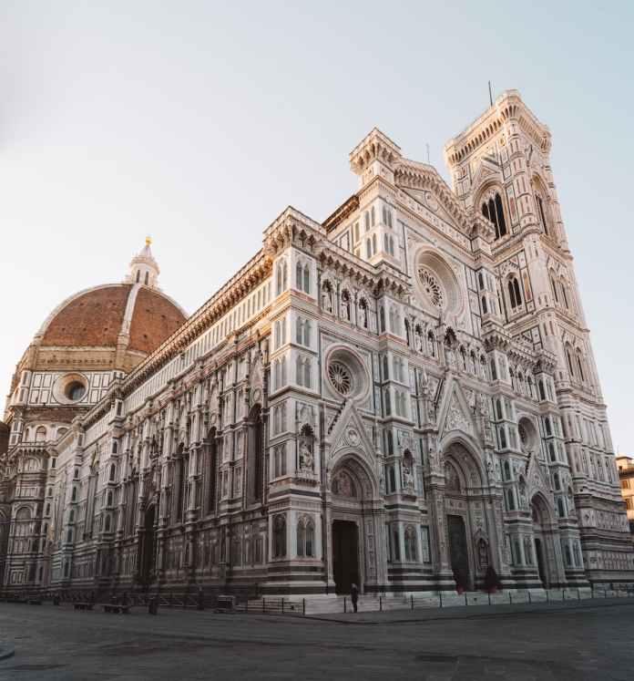 Santa Maria del Fiore e il Campanile di Giotto a Firenze