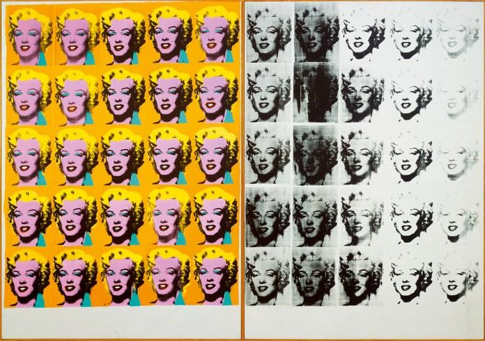 Dittico Marilyn Monroe Tate