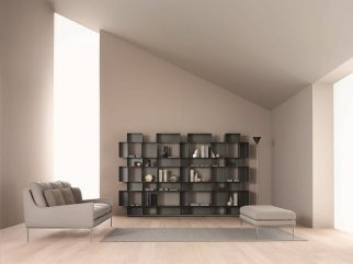 03_Eresia_Bookcase + Alice_Sofa