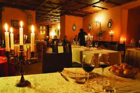 Castello di Petroia ristorante