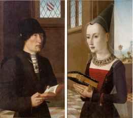 Maestro del Ritratto Baroncelli, Ritratto di Pierantonio Baroncelli e Maria Bonciani