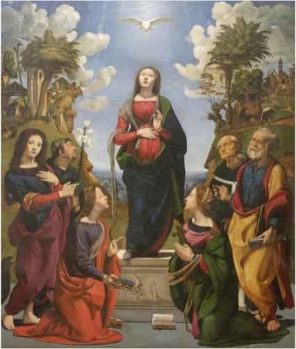 Piero di Cosimo, Incarnazione di Cristo