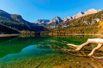 Lago di Tovel in autunno - Parco Naturale Adamello-Brenta