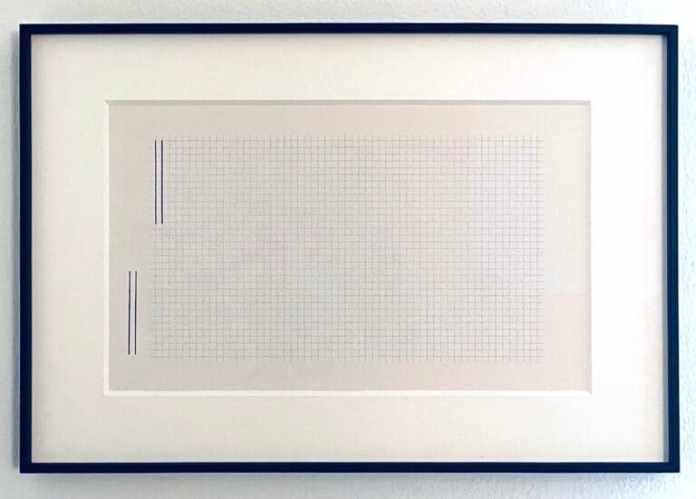 Peter Downsbrough Loom Gallery milano