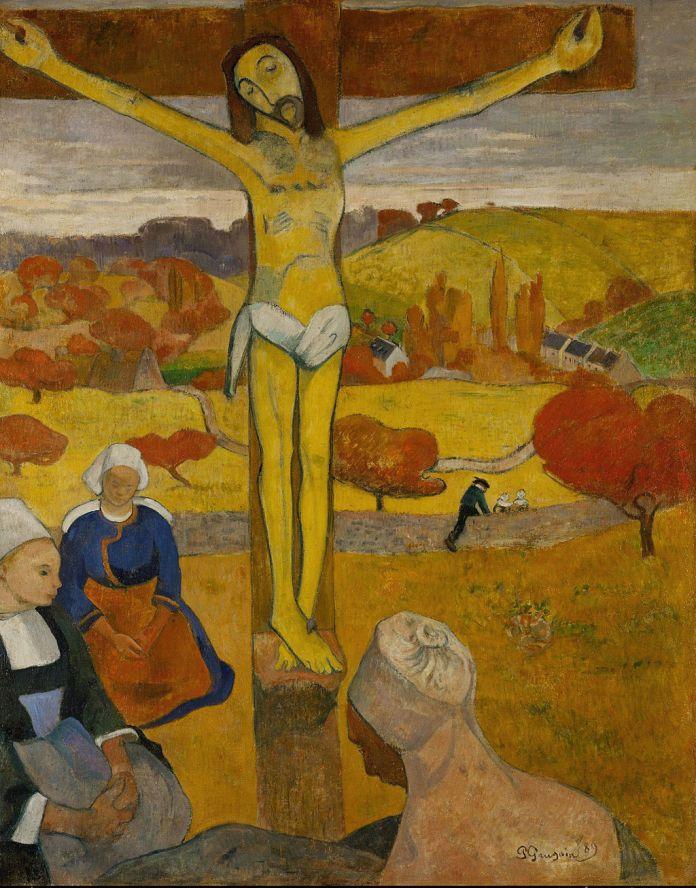 gauguin cristo giallo
