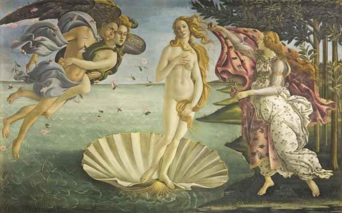Venere di Botticelli Nascita di venere
