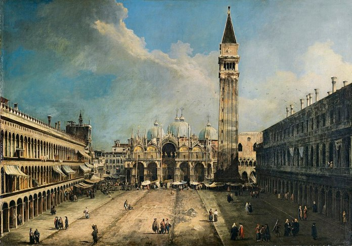 iazza san marco canaletto