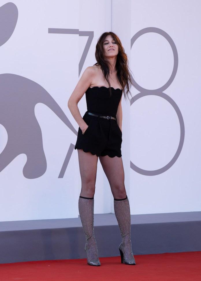 Charlotte Gainsbourg in Saint Laurent