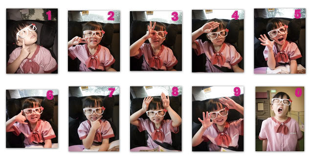Wordless Wednesday: Counting 1 to 10