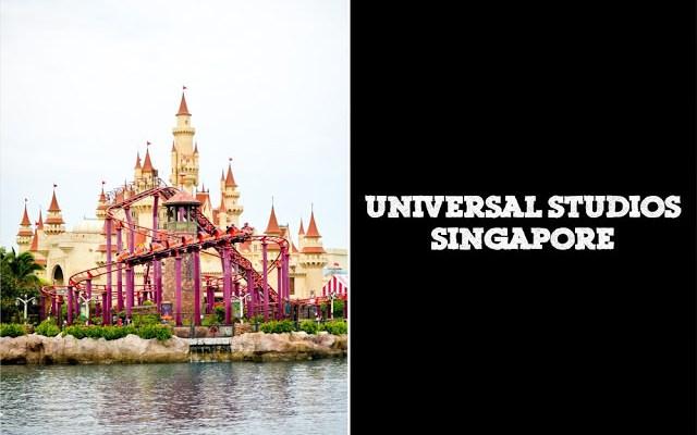 Post Exam Fun @ Universal Studios Singapore!