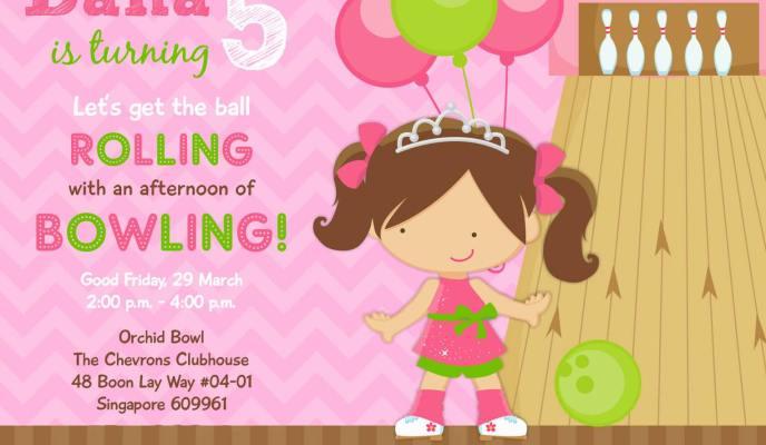 Dana's 5th Birthday Bowling Party – Princess & the Pins!