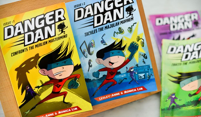 Danger Dan: A true-blue Singaporean Superhero brings reading to life!
