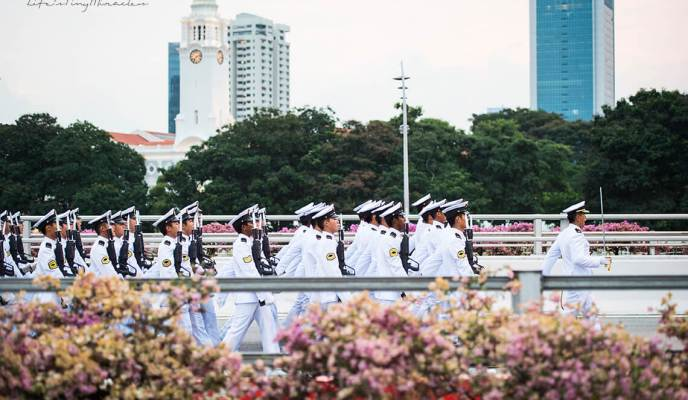 National Day Parade (NDP) 2015  – Soaking in the Action at the Fringe