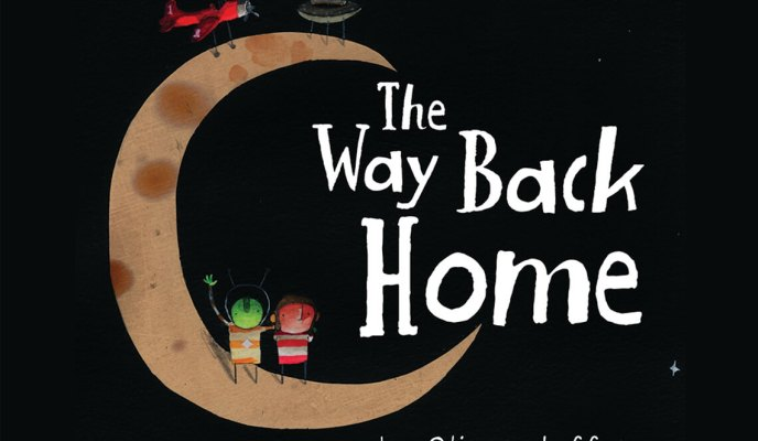 {Giveaway} The Way Back Home  by Oliver Jeffers