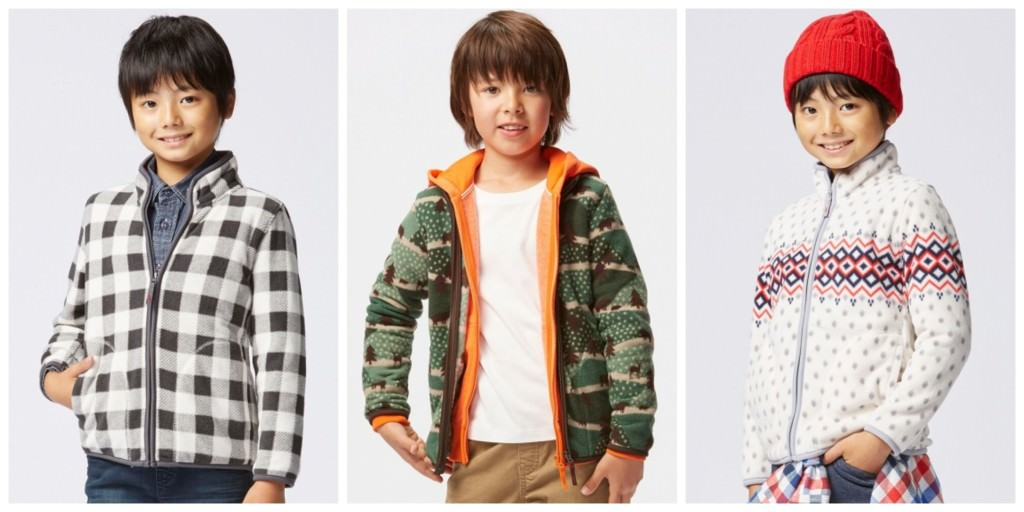 UNIQLO FLEECE BOYS-LTM Collage
