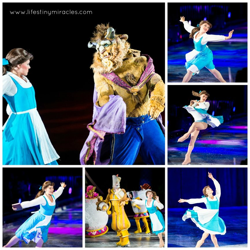 DisneyOnIceSG Belle1 Collage