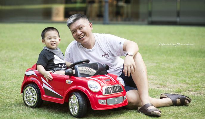 Friso Powered Ride On Car – #StrongInside Campaign