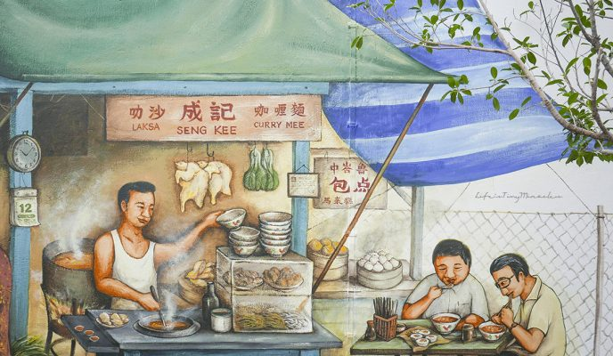 Singapore Heritage Murals: The ever-growing collection by Yip Yew Chong