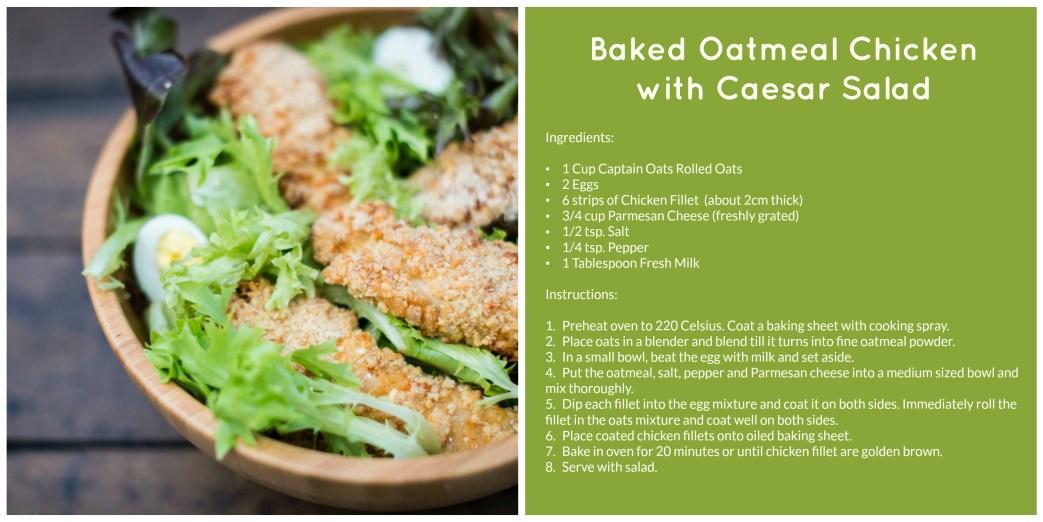 Captain Oats Salad Recipe