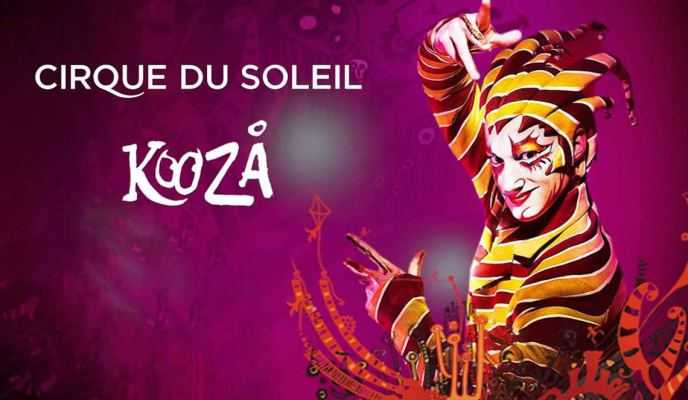 Cirque du Soleil's KOOZA, Now in Singapore!