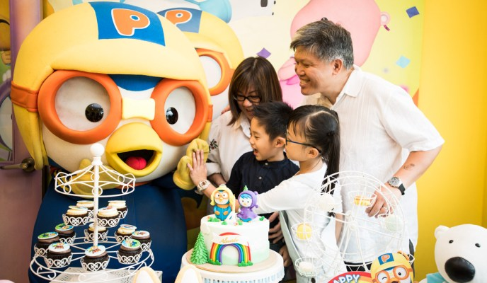 Birthday Party at Pororo Park Singapore!