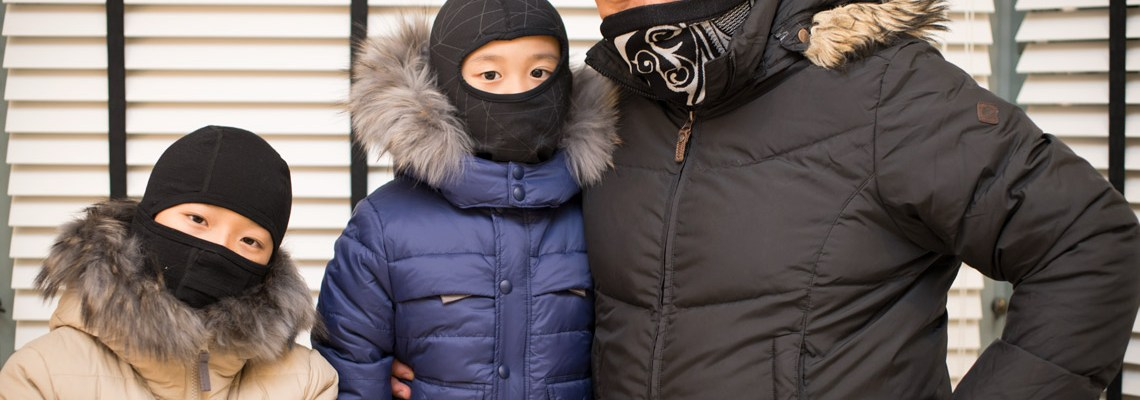 How to Dress Kids for Winter