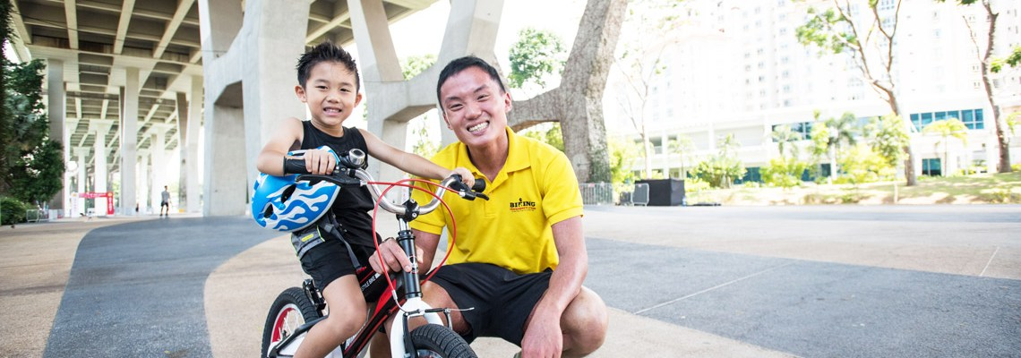 Learn Cycling Painlessly with Biking Singapore