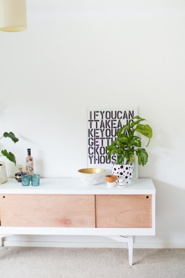 DIY Vintage Sideboard Makeover