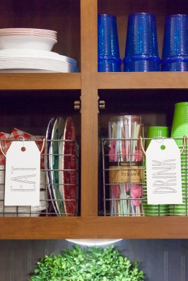 wire baskets for rv storage ideas shelves