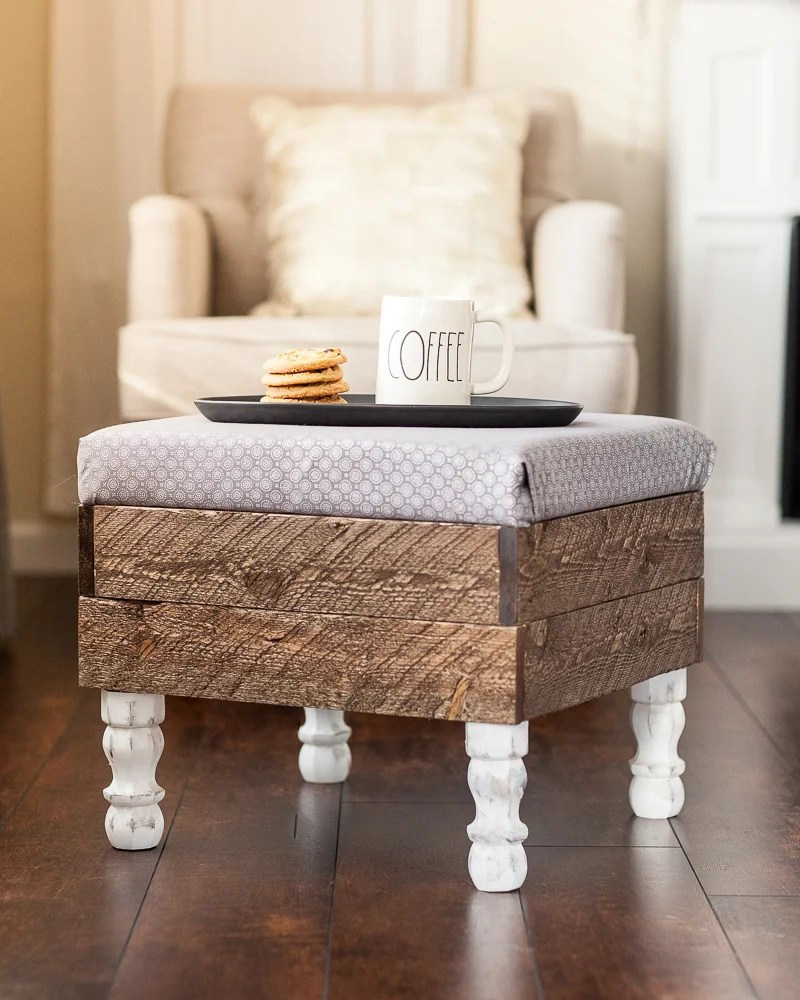 this beautiful diy storage ottoman will make you want to build one of your own life storage blog