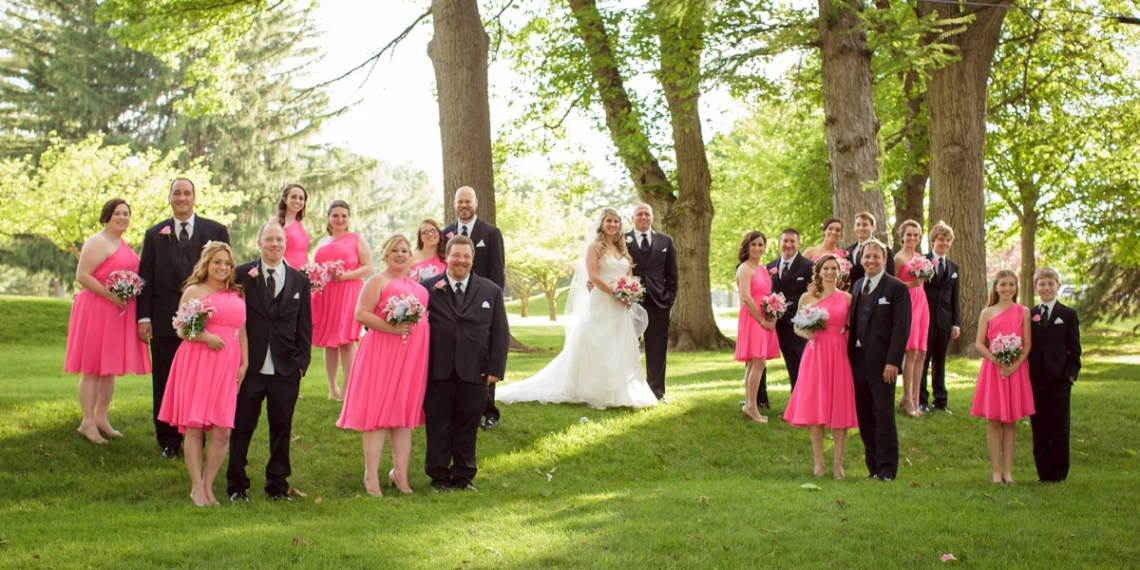 Lebanon Valley Country Club Photographer Wedding Summer