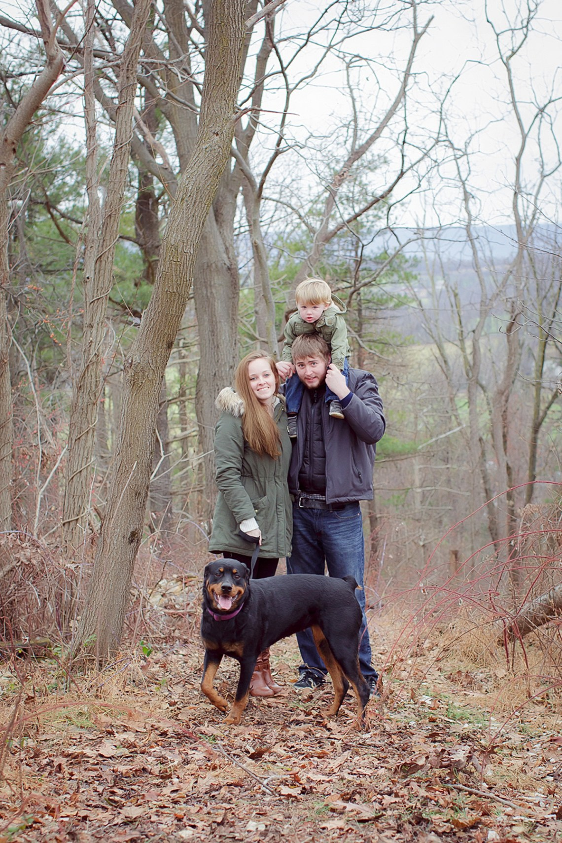 Hiking family photos bernville pa