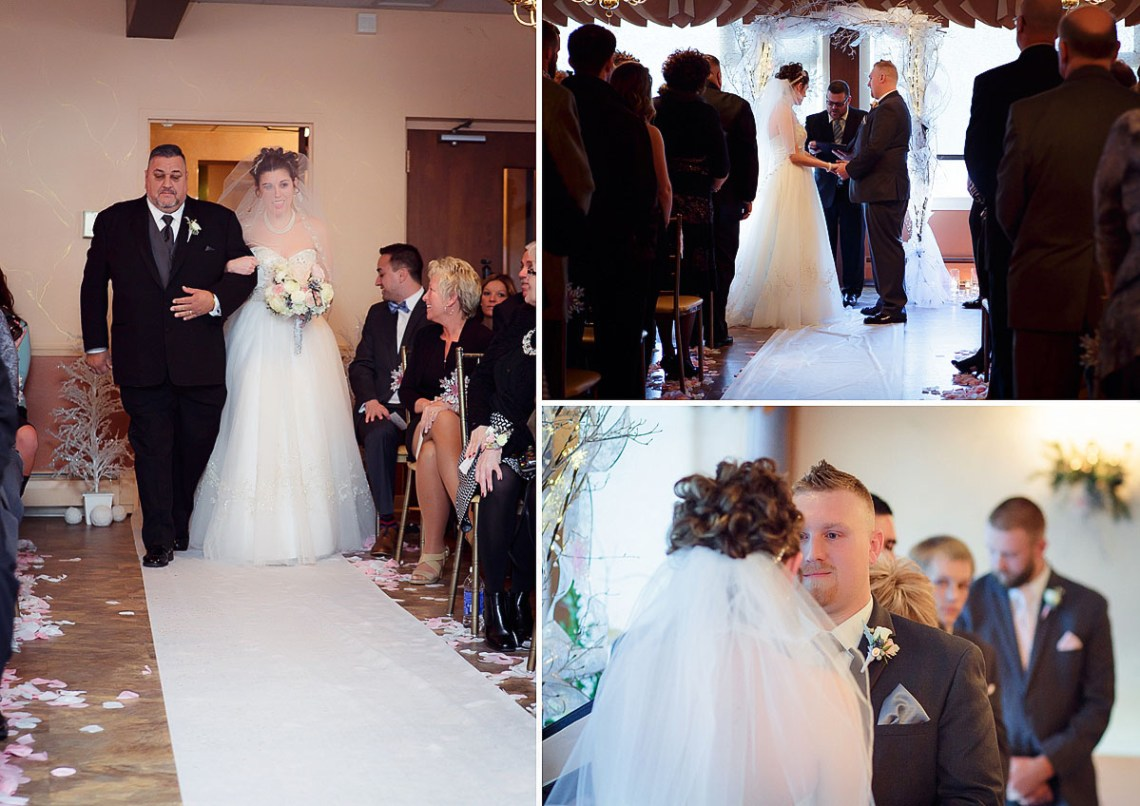 Winter Wedding Berks County Snow Photographer