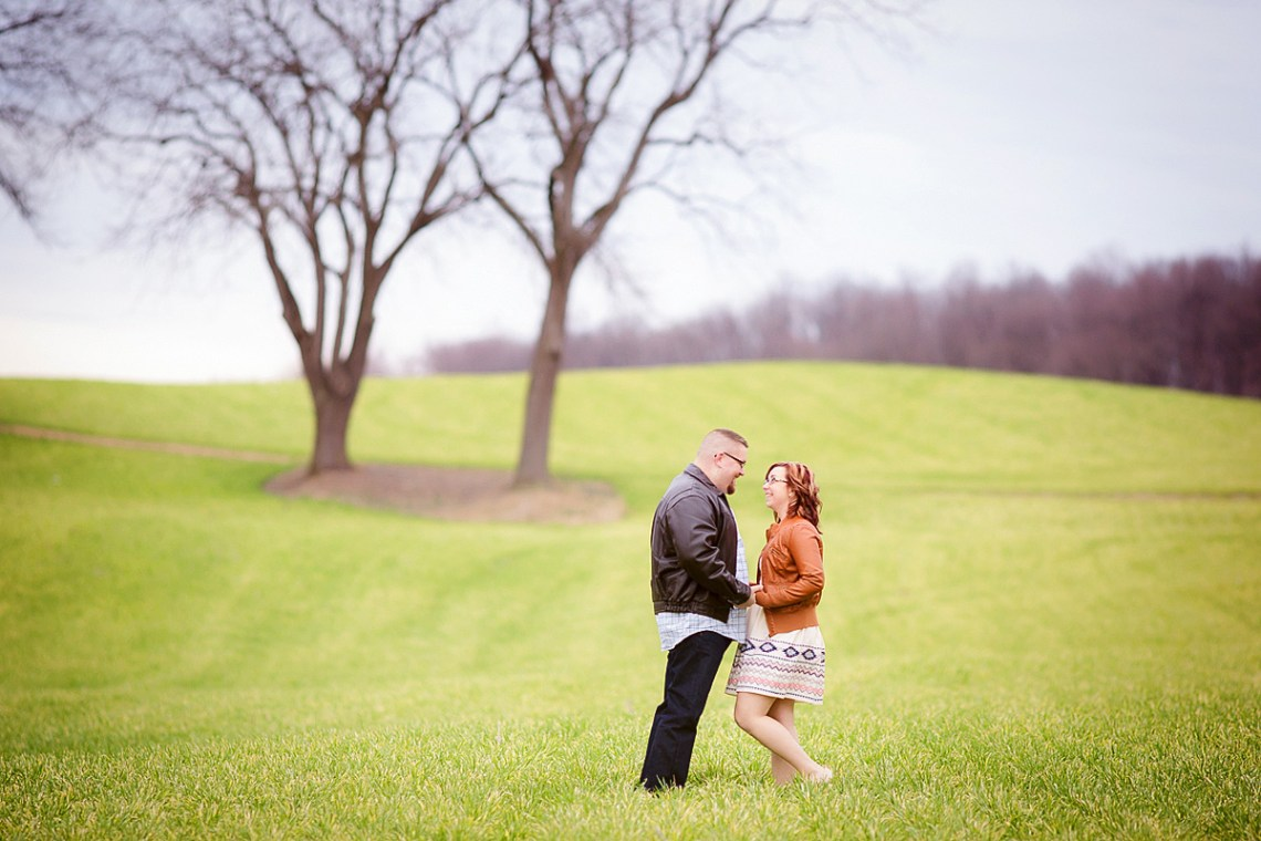 Engagement Photos Field Woods Berks County PA