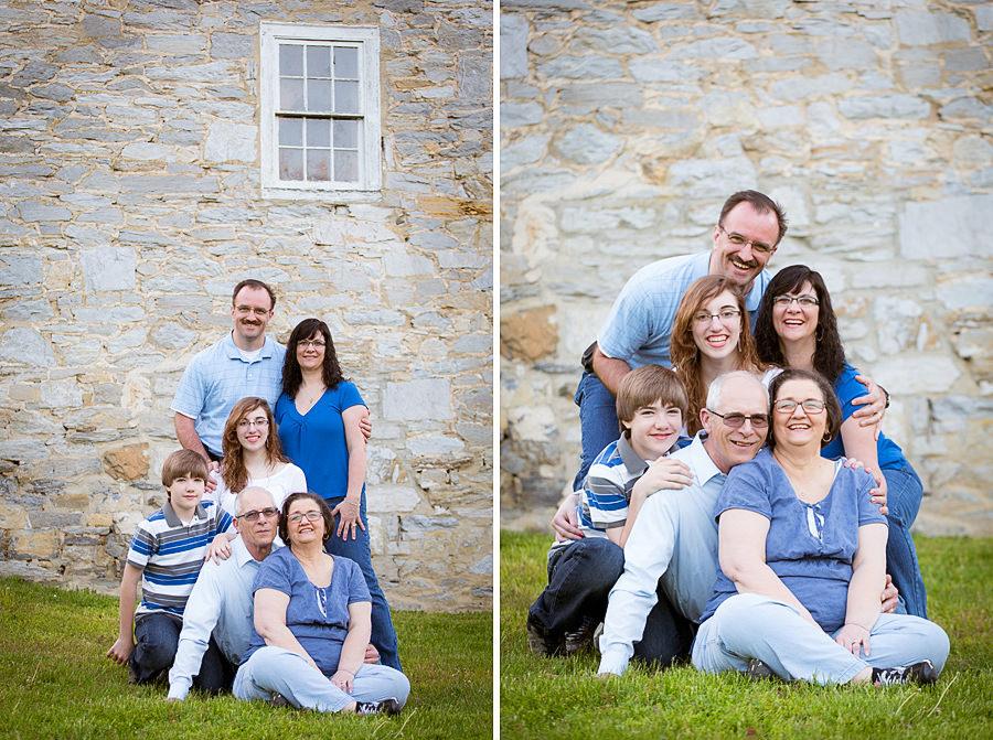 Family Photo locations Reading PA