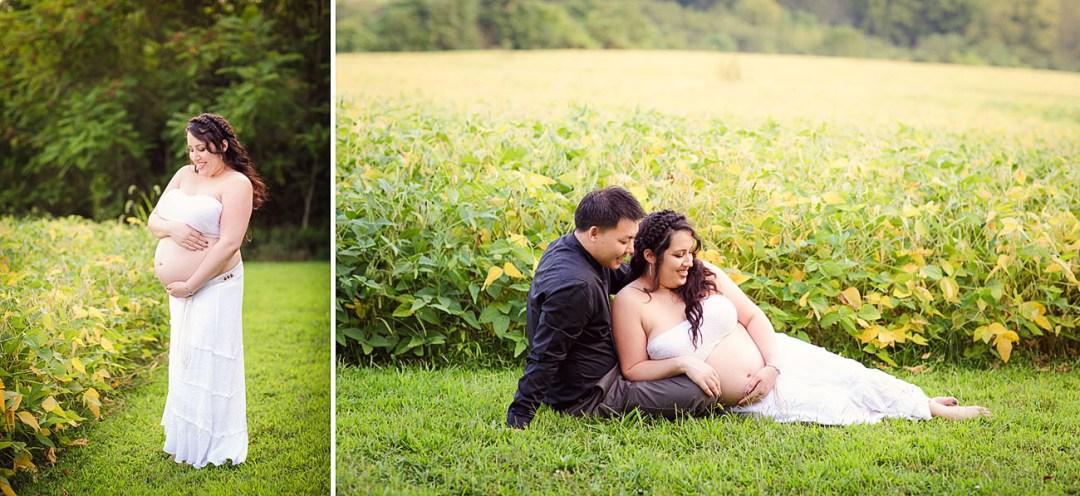Reading PA Outdoor Maternity photos