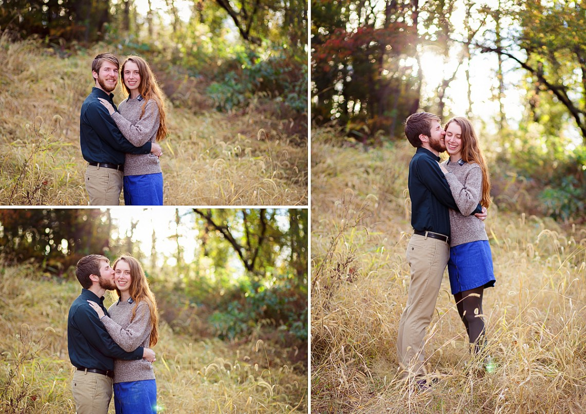 Reading PA Fall Engagement Photo Session