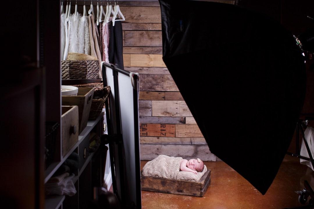 Newborn photography studio near Reading PA