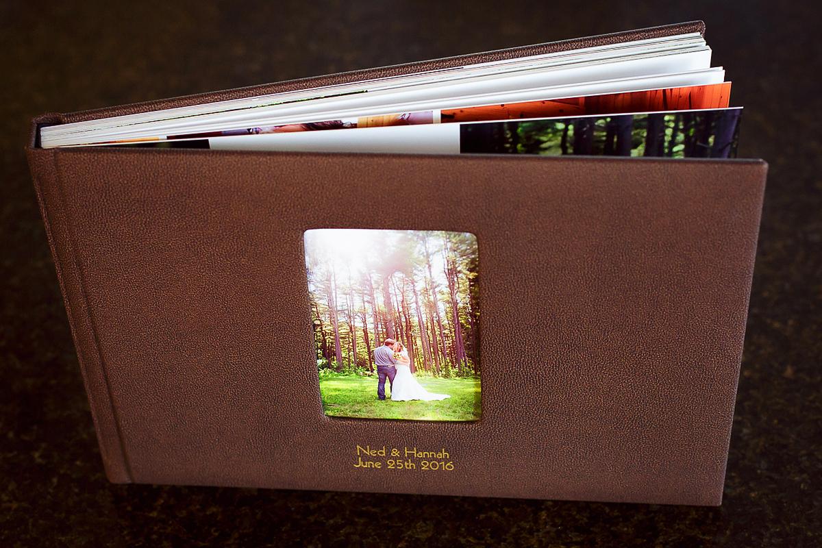 Custom Wedding Album Berks County Photographer
