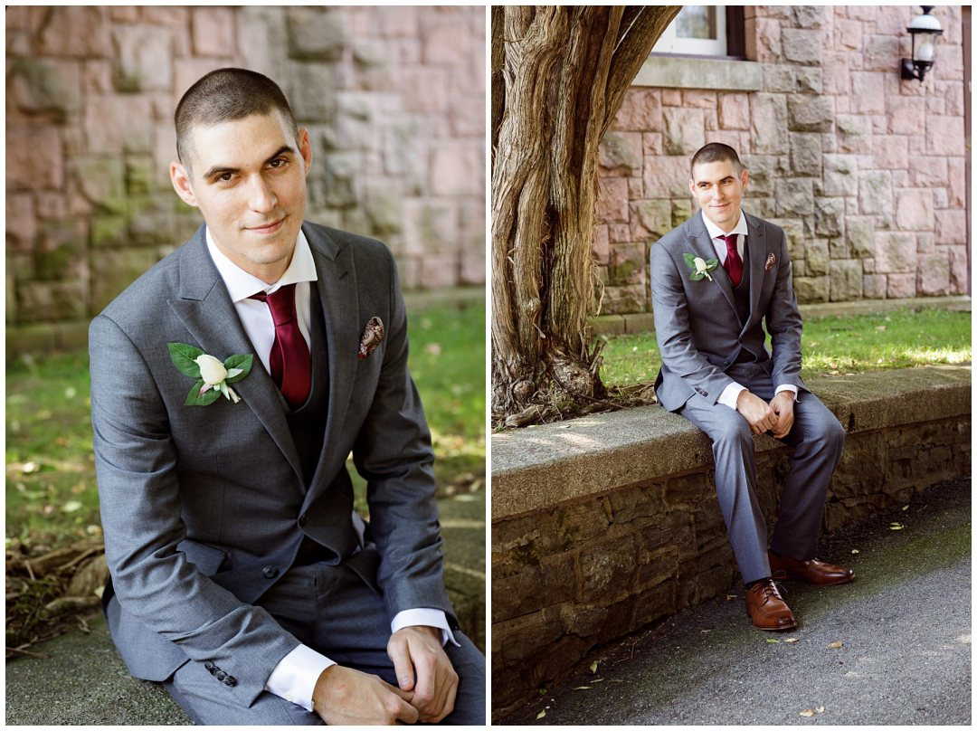 groom portraits in reading pa