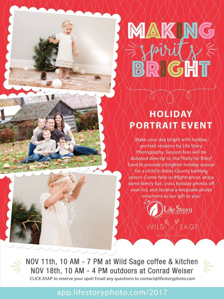 Christmas photo sessions berks county