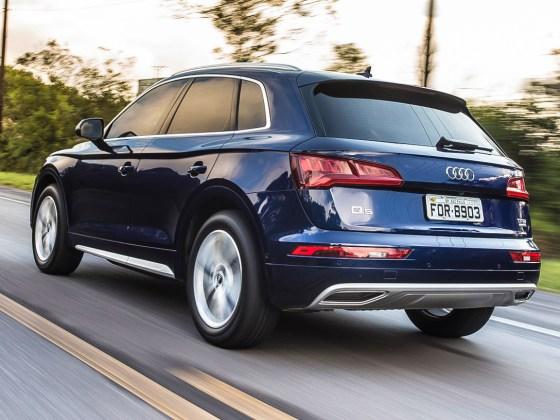 Segurança como estilo de vida. Audi apresenta seu primeiro SUV blindado de  fábrica 9b828d321f