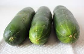dark green cucumbers