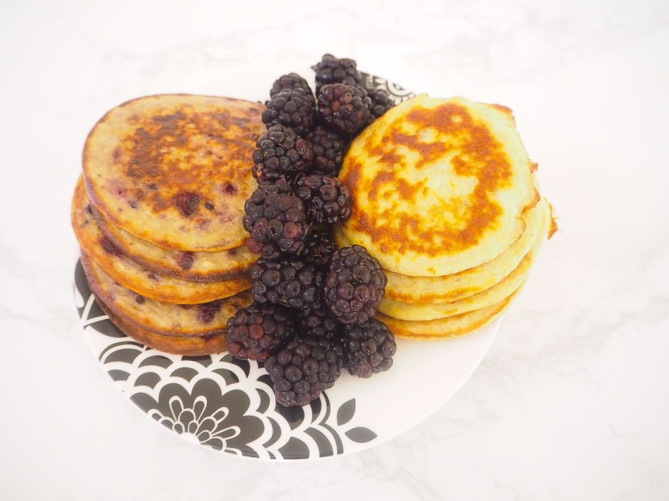 PANCAKES AND COLLAGEN THE HEALTHY WAY WITH ZINT