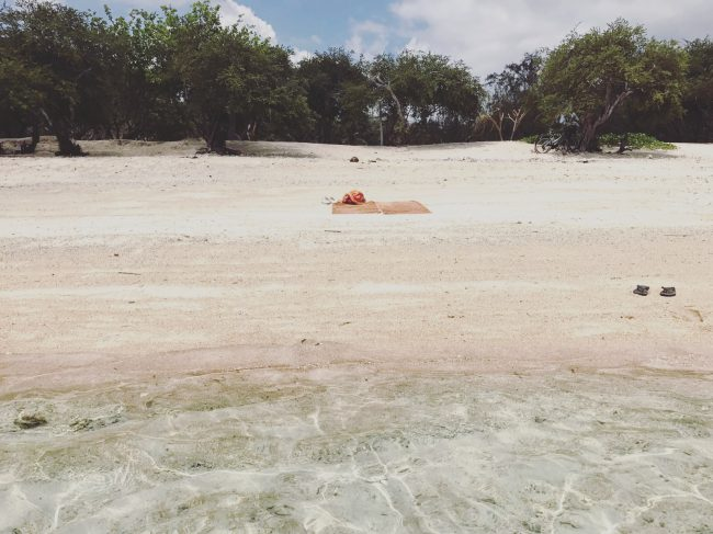 Gili Trawangan lonely Beach