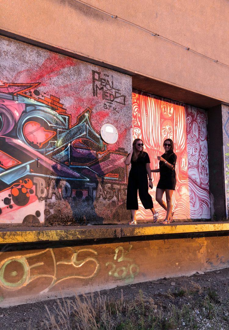 A-Rosa Linz Hafen Streetart lifestylecircus koffer.kind
