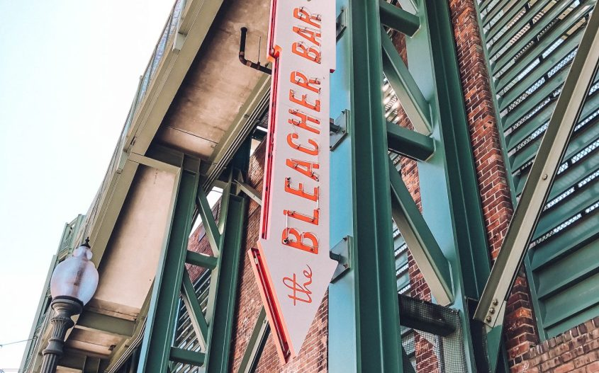 Rundreise Neuengland Fenway The Bleacher Bar
