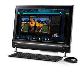 Digital Media Consultants - HP Touch Smart Desktop Computer