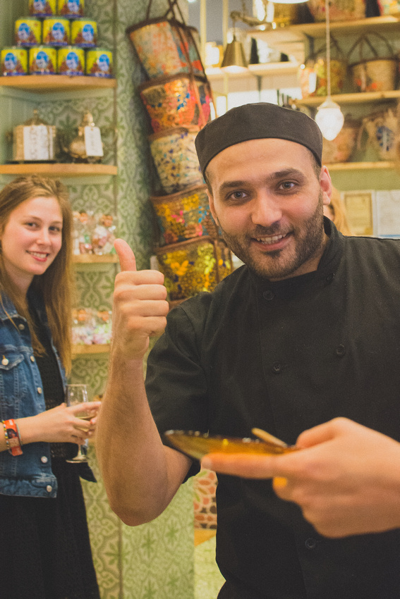 A colourful explosion of Middle Eastern gastronomic delights